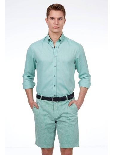 Hemington Şort Yeşil